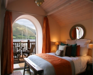 Boathouse at Knotts End Bedroom