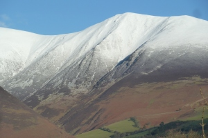 Light dusting on fell tops - some areas had less snow than others but everywhere nice and cold