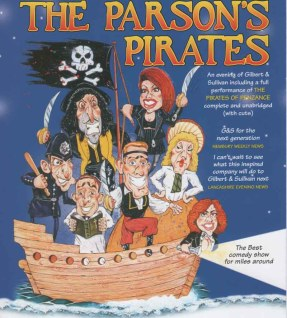 The Parson's Pirates - An evening of Gilbert & Sullivan at the Theatre by the Lake  - Keswick