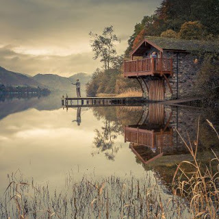 Rustic atmoshphere surrounding The Boathouse